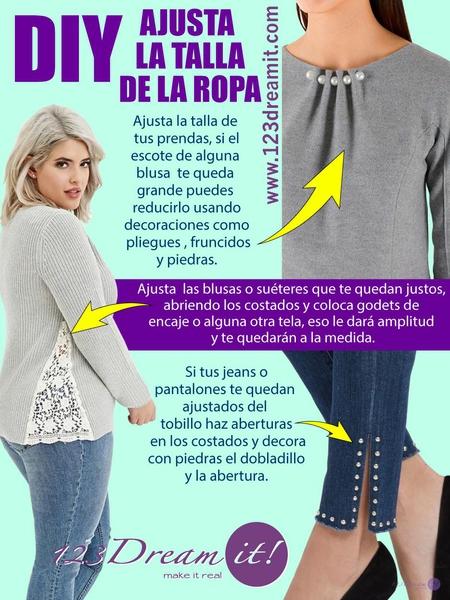 DIY- Ajusta la talla de tu ropa.