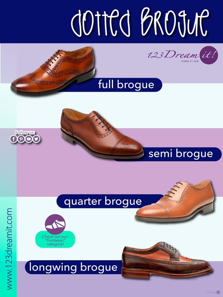 DOTTED BROGUE