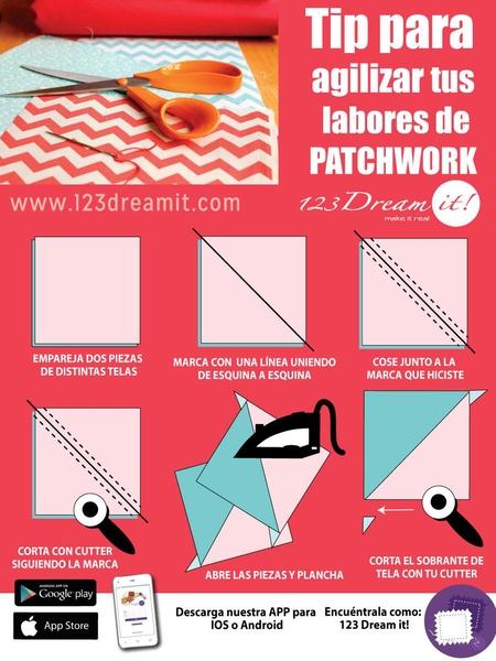 Tip para agilizar tus labores de patchwork 2