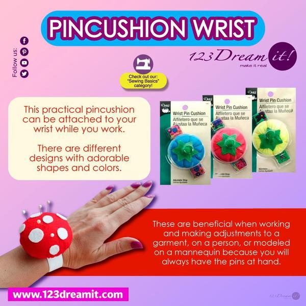PINSCUSHION WRIST