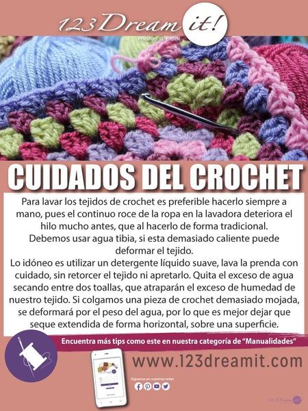 Cuidados del crochet