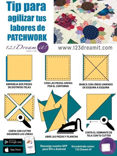 Tip para agilizar tus labores de patchwork