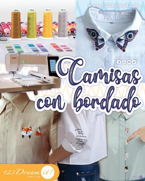 Camisas con bordados - Idea para personalizar