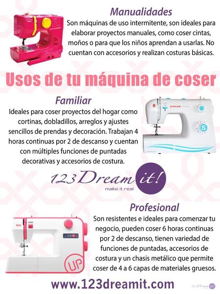 Usos de tu máquina de coser