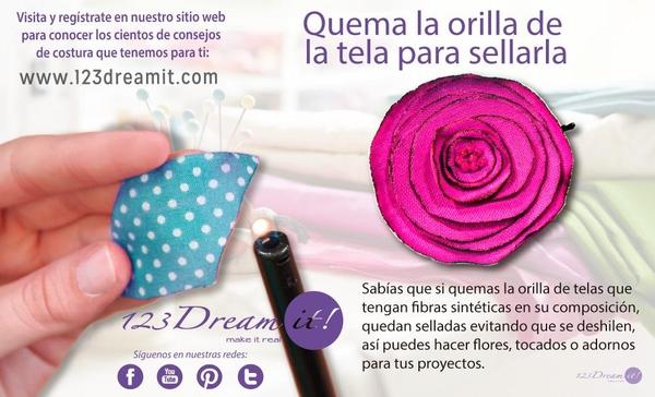 Tip para hacer flores y aplicaciones para decorar