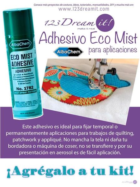 Adhesivo Eco Mist para aplicaciones