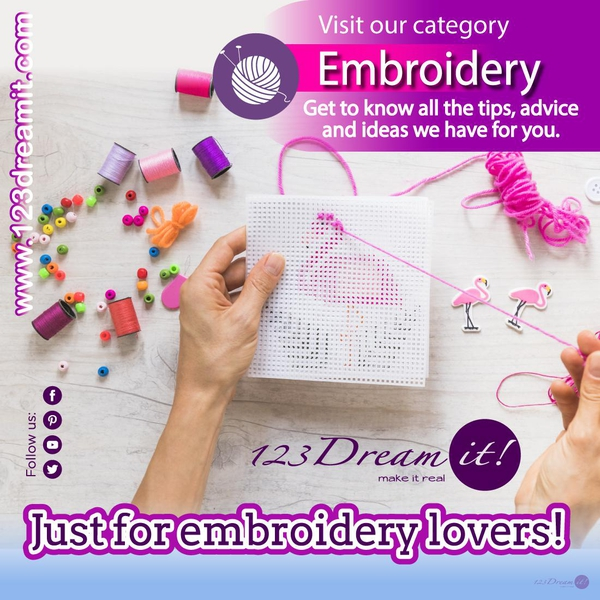JUST FOR EMBROIDERY LOVERS!