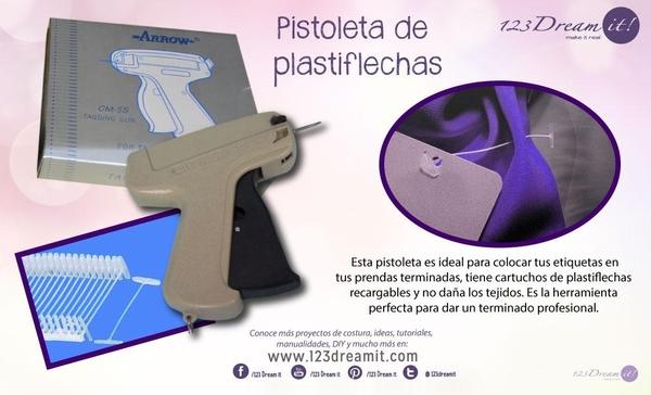 Conoce la pistoleta de plastiflechas