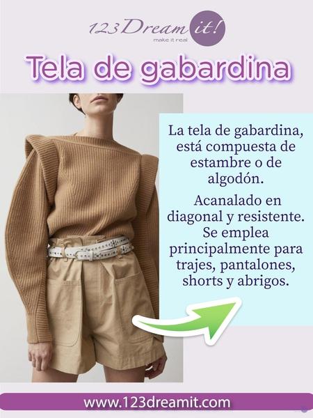 Tela de Gabardina