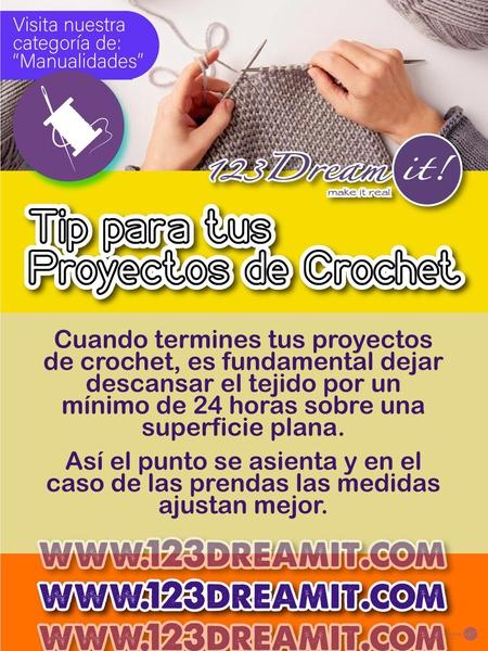 Tip para tus proyectos de crochet