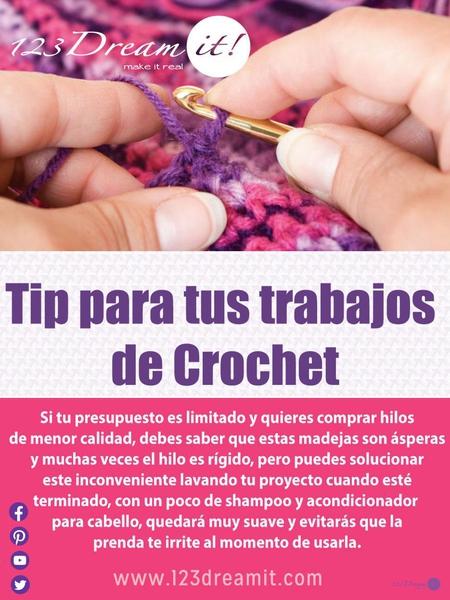 Tip para los trabajos de crochet