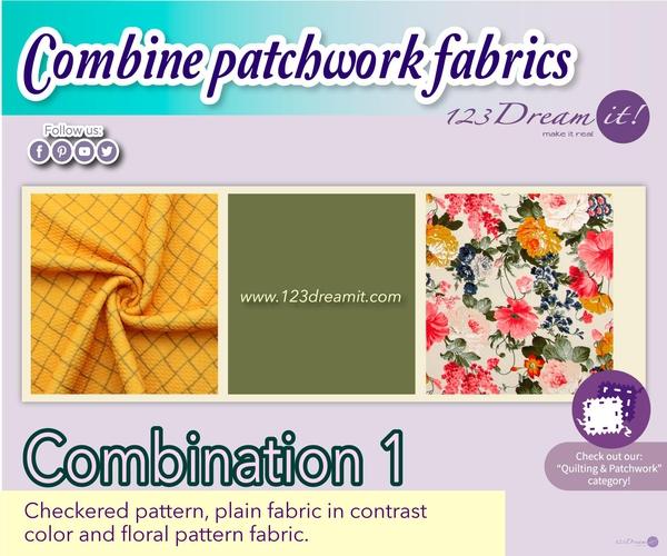 COMBINE PATCHWORK FABRICS