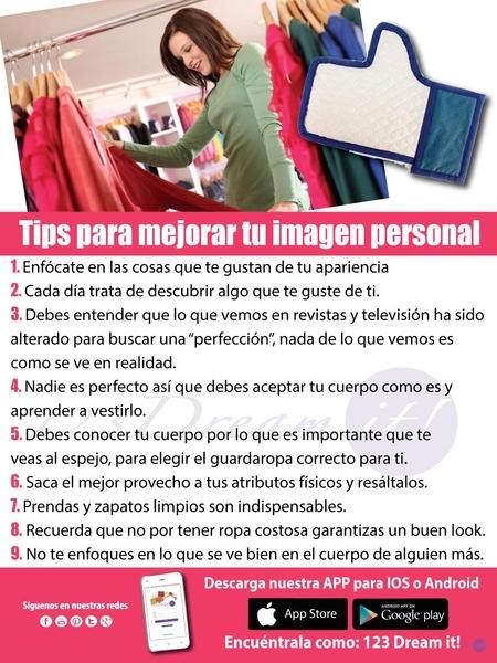 Tips para mejorar tu imagen personal
