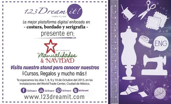 123 Dream it! en Expo Manualidades y Navidad!