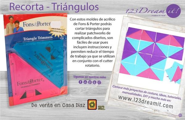 Recorta Triángulos