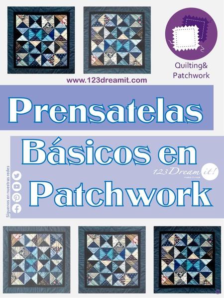 Prensatelas básicos en patchwork