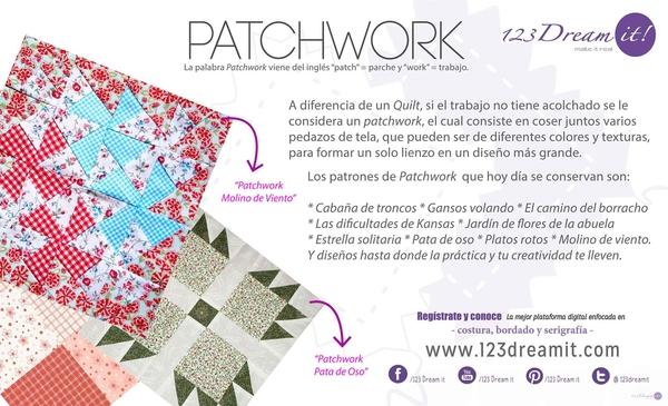"""Aprende lo que es un """"Patchwork"""""""