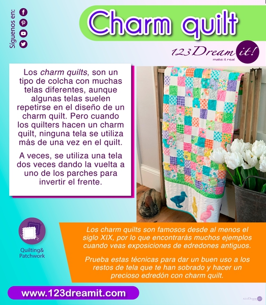 Charm quilt
