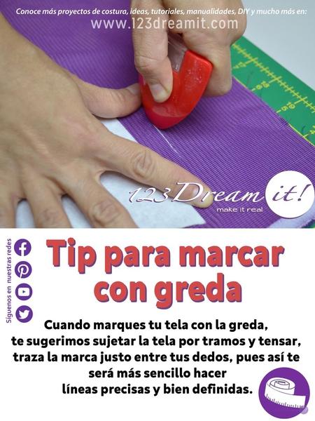 Tip para marcar con greda