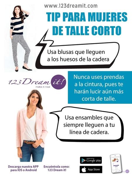 Tip para mujeres de talle corto