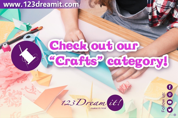 FOLLOW AND SHARE OUR CRAFTS CATEGORY!
