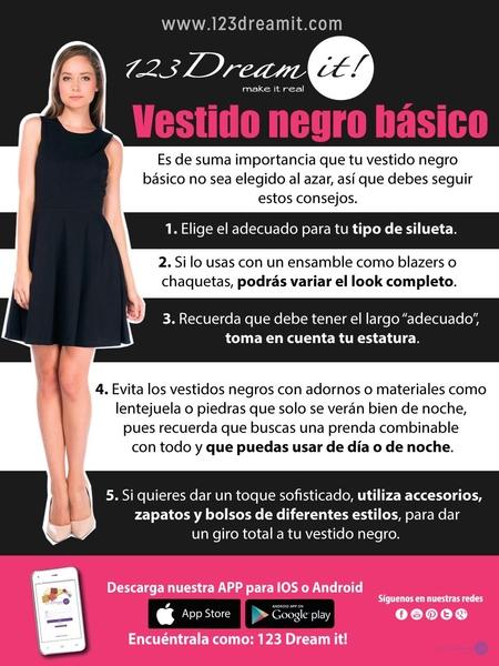 Vestido negro básico