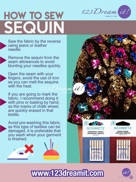 HOW TO SEW SEQUIN
