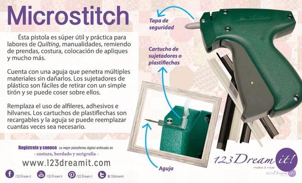El uso de la  Microstitch