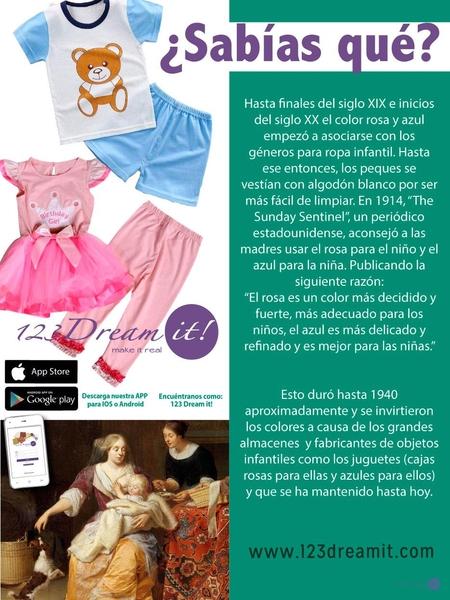 ¿Sabías esto sobre la ropa infantil?
