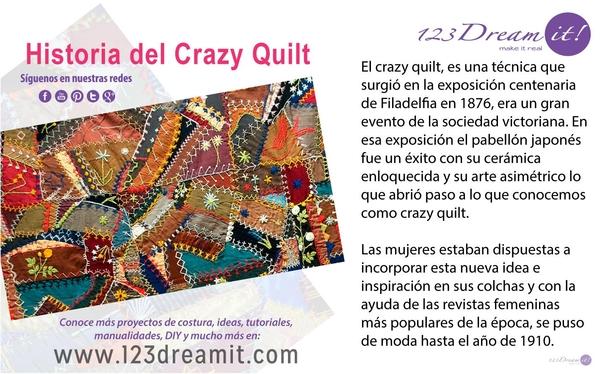 Historia del Crazy Quilt