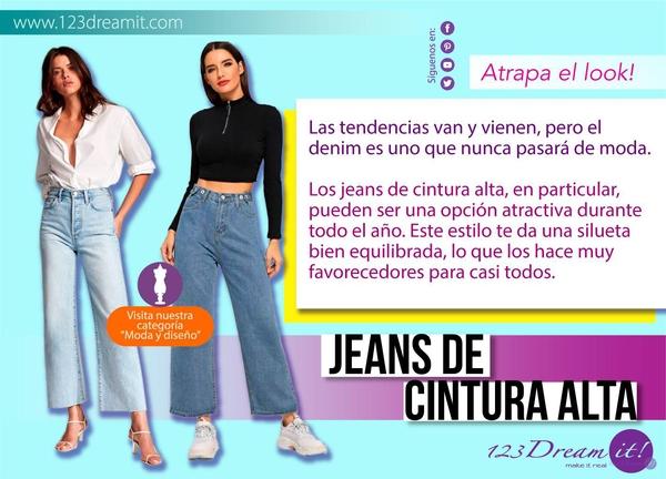 JEANS HOLGADOS DE CINTURA ALTA