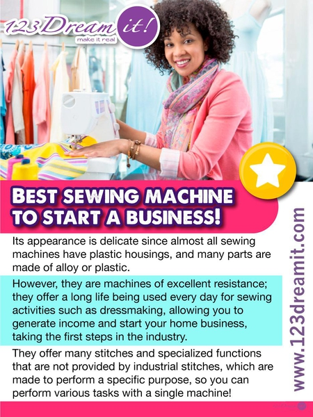BEST SEWING MACHINE TO START A BUSINESS