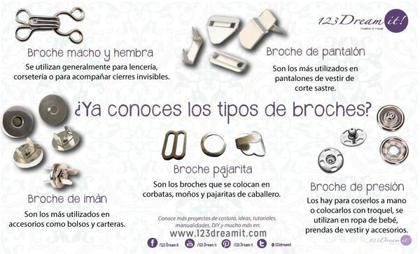 Tipos de broches