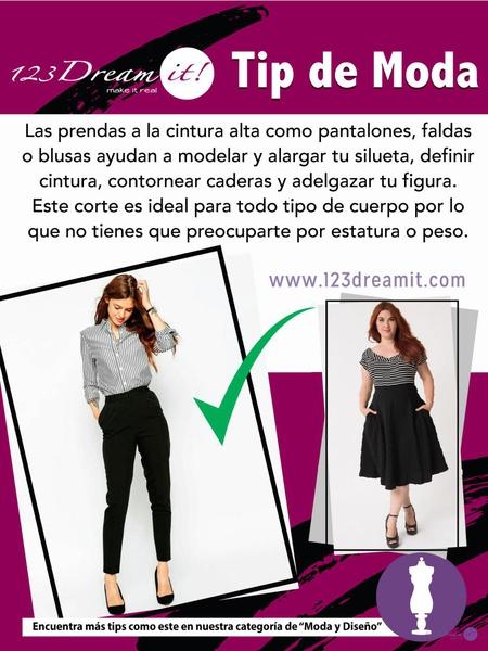 Tip de Moda: Prendas para cintura alta