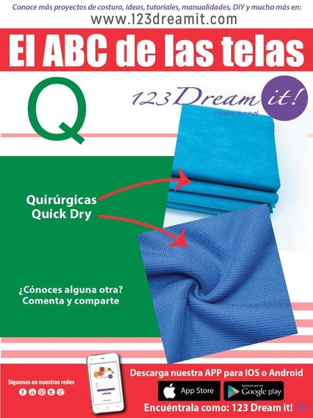 """El ABC de las telas letra """"Q"""""""