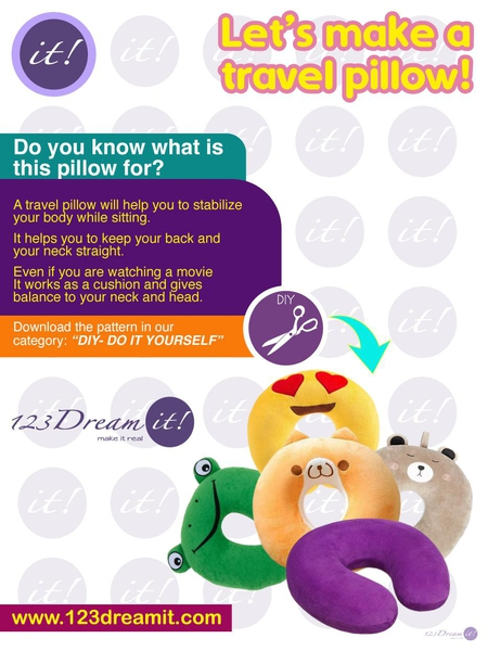 LET'S MAKE A TRAVEL PILLOW!