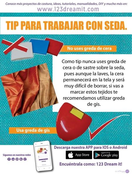 Tip para trabajar con seda