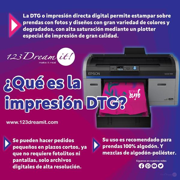 ¿Qué es la impresión DTG?
