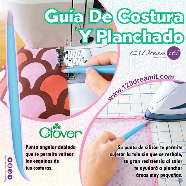 Guía de costura y planchado Clover