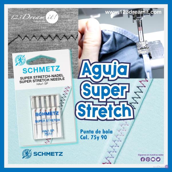 Aguja Super Stretch Schmetz