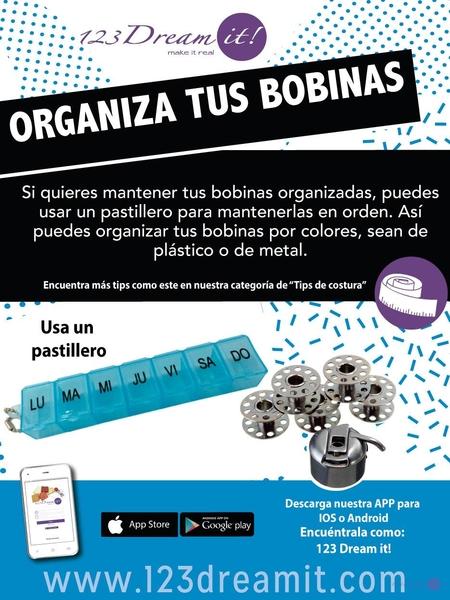 Tip para organizar tus bobinas