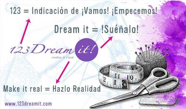¿Sabían porqué nos llamamos 123 Dream it?