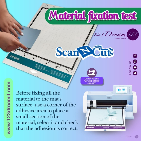 MATERIAL FIXATION TEST