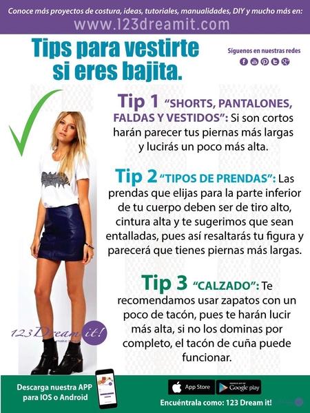 Tips para vestir si eres bajita