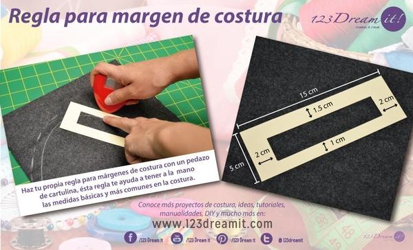 Tip para hacer márgenes de costura