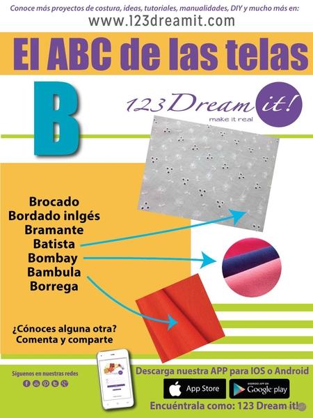 """El ABC de las telas """"B"""""""