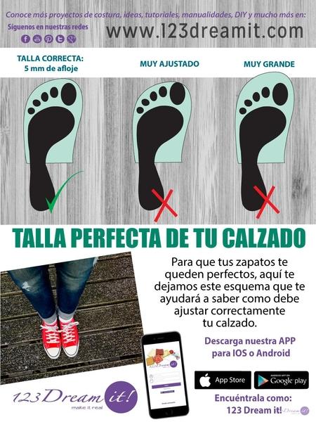 Tip para el ajuste perfecto de tu calzado