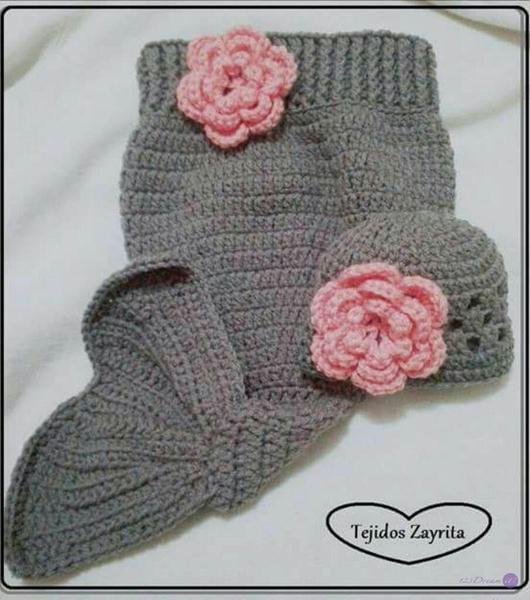Sirenita a Crochet