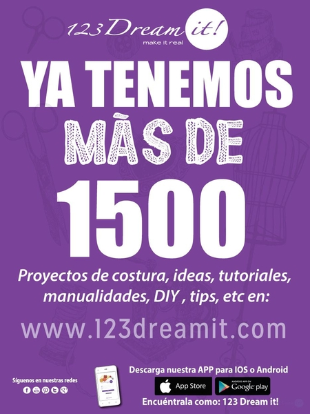 1500 Publicaciones en 123 Dream it