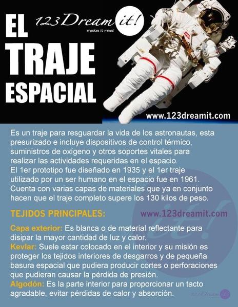 El traje de astronauta